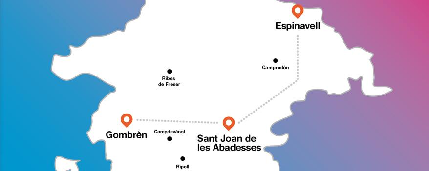 Mapa del Ripollès
